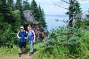 Hiking Cape Split with Josh