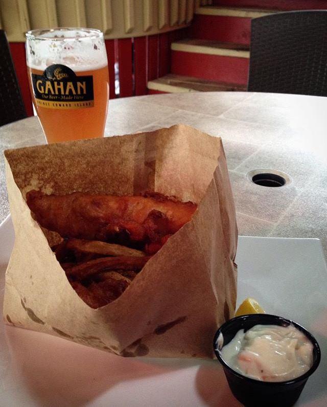 Brown Paper Bag Fish & Chips