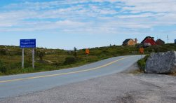 Entering Peggy's Cove